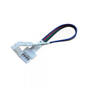 15cm Extension Cable with 10mm RGB Snap Connectors