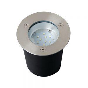 EWOK LED mains groundlight, IP67, 10 Blue LED'S, 6000K