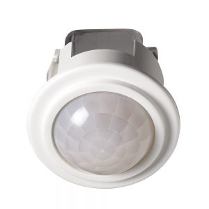 Robus PROTON 360° PIR, recessed, IP20, White