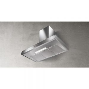 Faber Gemma Box Chimney Extractor Hood Stainless Steel 900mm