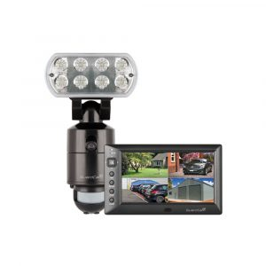 Guardcam LED Combined Floodlight with Monitor