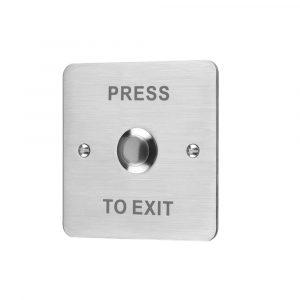 ESP EV-EXIT - Push to Exit Lock Release Button S/Steel