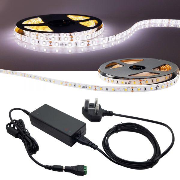 XE DIY PREMIUM LED STRIP KIT IP45 6000K COOL WHITE