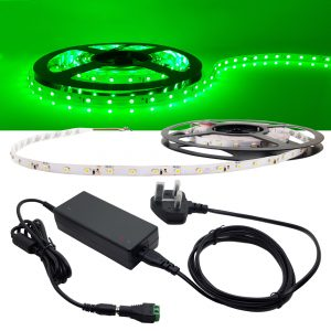 DIY Value Package GREEN LED Strip Kit