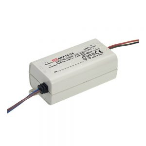Mean Well APV 16W, 12V DC Switching LED Power Supply / Driver