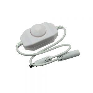 XE Mini Inline Wheel Dimmer for Single Colour Flexible LED strip 1x2A (24W)