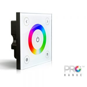 XE D Series D3 Wall Mount Touch Controller for RGB LED Strip
