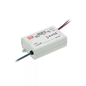 Mean Well APV 25W, 12V DC Switching LED Power Supply / Driver