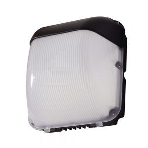 Robus FALCON 50W LED wall light, Black, 5500k