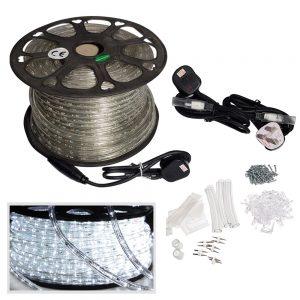 LED Rope-lIght-50M-Cool White Kit