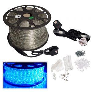LED-Rope-light-50m-Blue-Kit