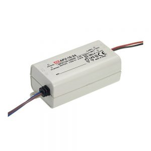 Mean Well APV 16W, 24V DC Switching LED Power Supply / Driver