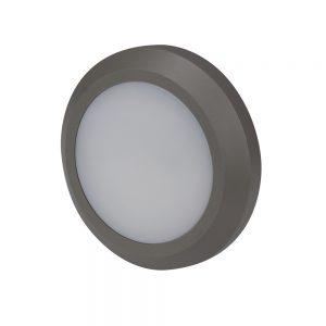 Robus TWILIGHT 3W LED circular wall light, Grey