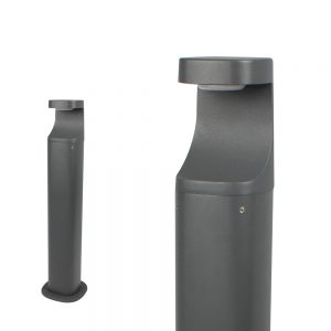 Robus-Orion-Bollard-500mm-LED dark grey