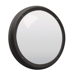 Robus VEGA 14W LED bulkhead, Black(Microwave Sensor)
