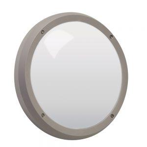 Robus VEGA 14W LED bulkhead, Grey (Sensor+Emg)