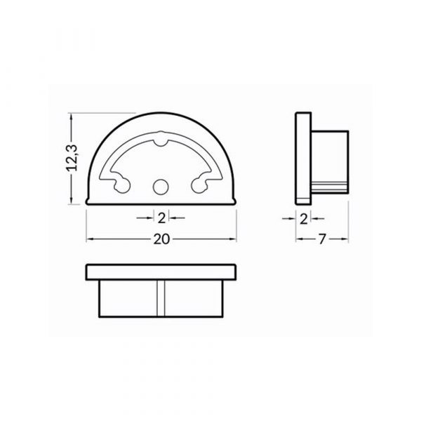 ARC12-Curved-End-Caps-Dimension