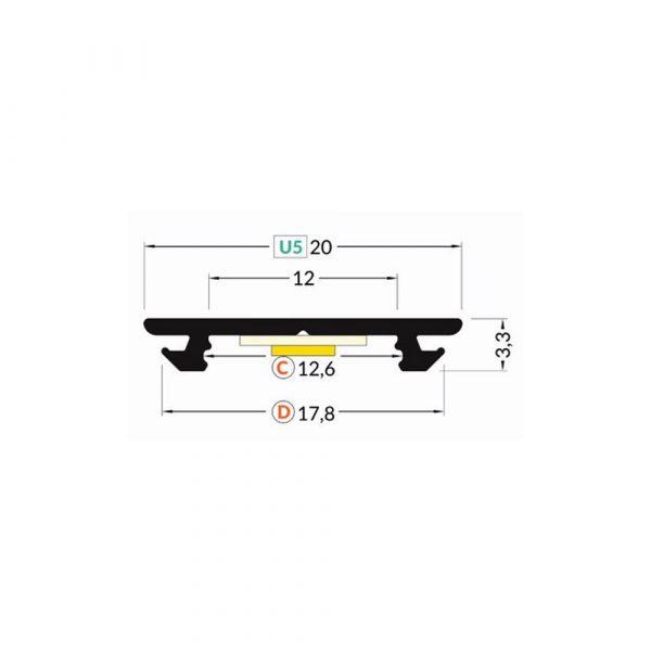 ARC12-Flexible-Profile-Dimension