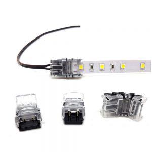 XE Crimp Power IP20 Strip 2 Pin 10mm Power Connector (x1)