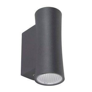 Robus Bilume UP/Down wall light Dark Grey