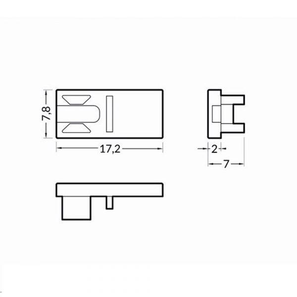 HI8-End-Caps-Dimension