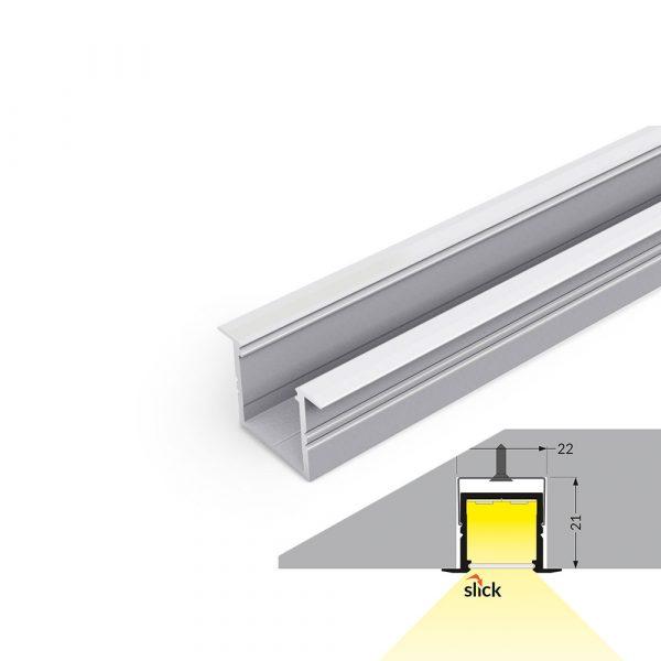 SMART-IN16 Recessed Aluminium Profile