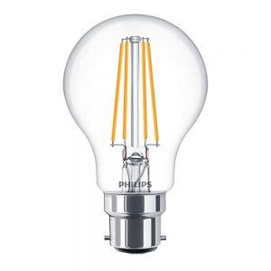 Philips Classic BC/B22 Filament LED 7=60W