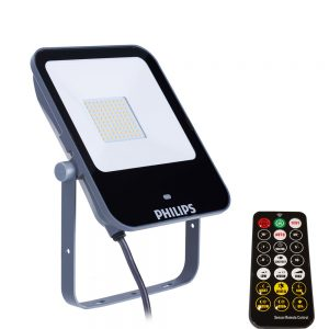 PhiLIPS-50w-ledenaire-Sesnor Floodlight