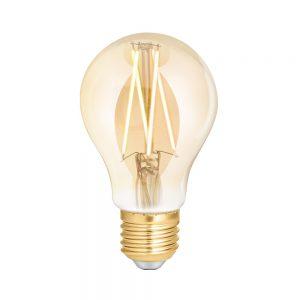 Wiz-wifi-ES/E27-dimmable-Filament-LED- AMBER TINT- 2200K Warm White