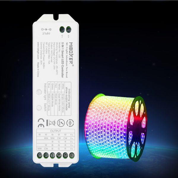 5 in 1 Smart LED Controller