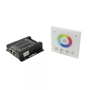 VEGAS 768W controller, IP20, RGBW, with wall mounted touch panel
