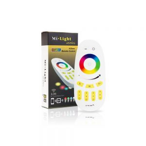 Mi-Light 4 Zone Touch RF RGBW Remote Control