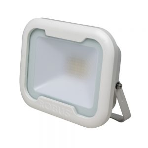 REMY 50W LED flood light, IP65, White, 4000K, c/w junction box