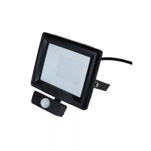 Robus HiLume 10W LED floodlight w/PIR