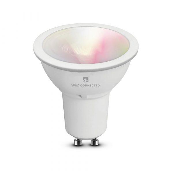 WiZ 4lite GU10 Smart Bulb, RGB+Tunable White