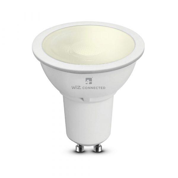 WiZ 4lite GU10 Smart Bulb, Warm White