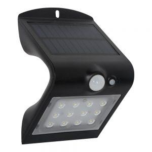 Robus SOL 1.5W Solar LED Wall light w/PIR