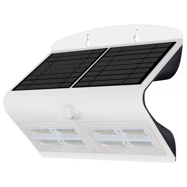 Robus SOL 6.8W Solar LED Wall light w/PIR