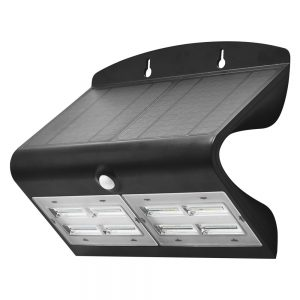Robus SOL 6.8W Solar LED Wall light w/PIR