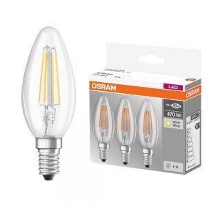 Osram-Filament-Clear-Candle-E14-3PK