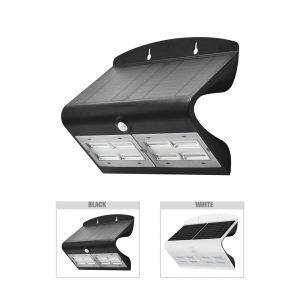 Robus SOL 6.8W Solar LED Wall light with PIR