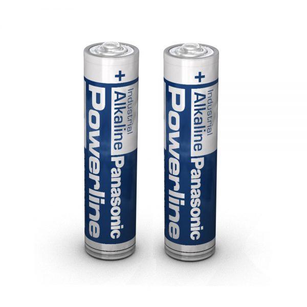 Panasonic Alkaline AAA Industrial Battery, 2 Pack