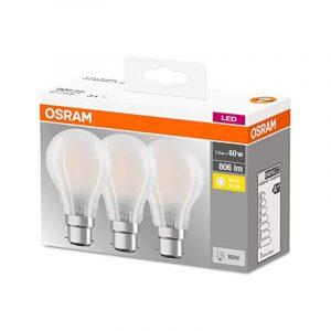 Osram LED Base Classic 7=60W 2700K, 3 Pk