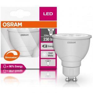 Osram PAR16 LED Reflector 3.6=55W 4000K GU10
