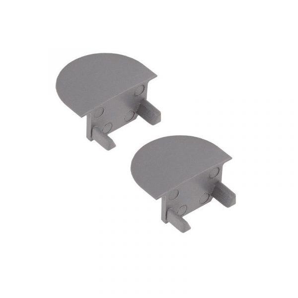 U-Line Recess Angle End Caps, Set