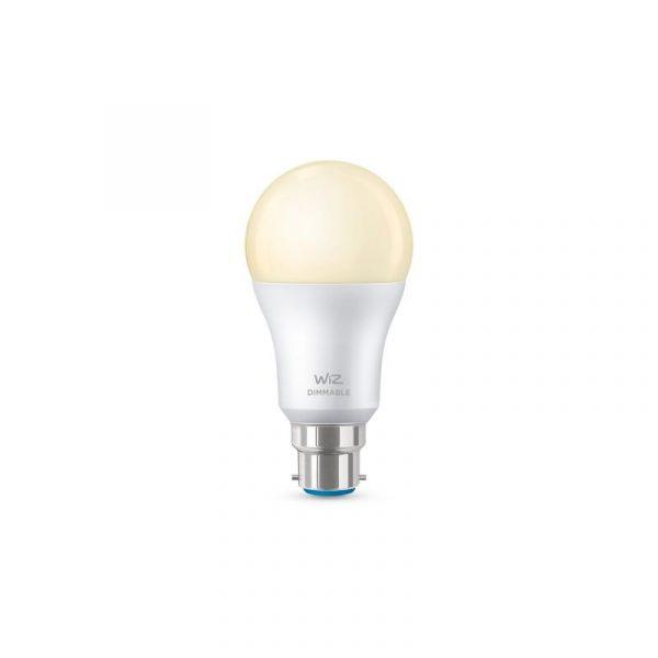 WiZ-Whites-GLS-Smart-Bulb-B22,-Warm-White