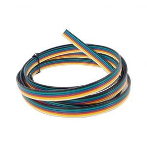RGB+CCT 6 Core Ribbon Cable 0.32mm (2 Meter)