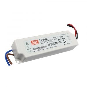 Mean Well LPV 20W DC Switching LED Power Supply / Driver