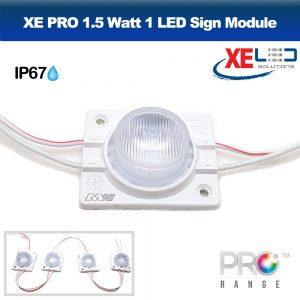 XE PRO 1.5W LED Sign Module IP67 12V Cool White