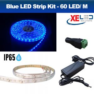 5M Blue IP45 LED Strip Light, DIY Value Kit